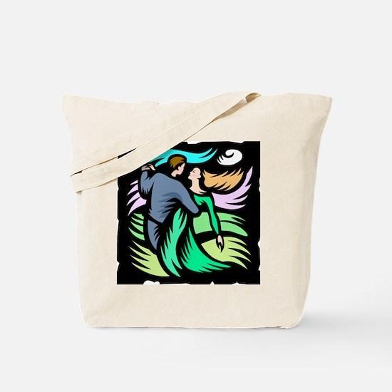 Night Dancing Tote Bag