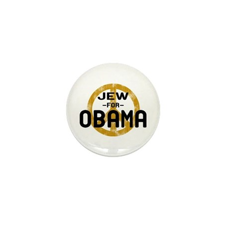 Jew for Obama Mini Button