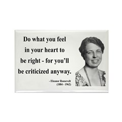 Eleanor Roosevelt 7 Rectangle Magnet (10 pack)