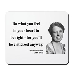 Eleanor Roosevelt 7 Mousepad