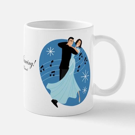 Cartoon Ballroom Dancers Mug