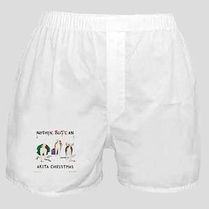 Nothin' Butt An Akita Xmas Boxer Shorts