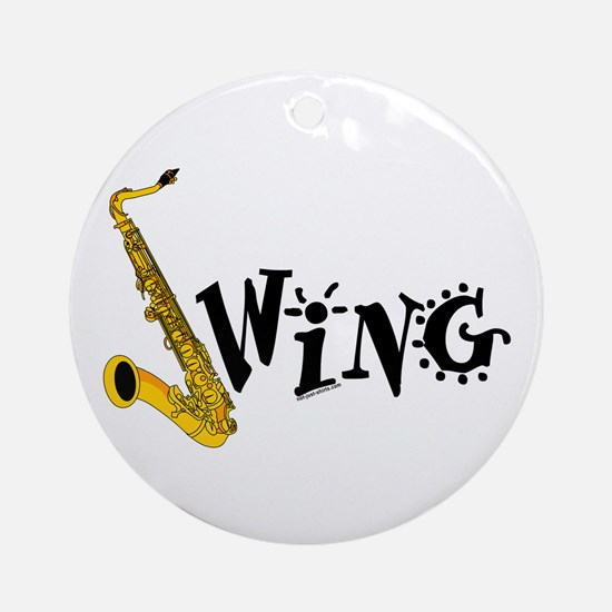 Swing Ornament (Round)