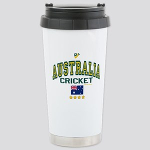 AUS Australia Cricket Stainless Steel Travel Mug