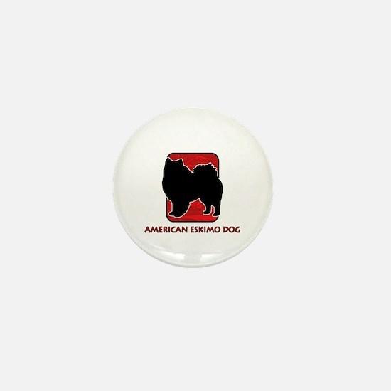 American Eskimo Dog Mini Button