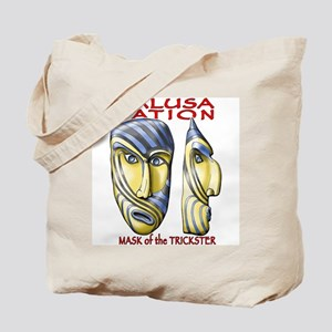Trickster Mask Tote Bag