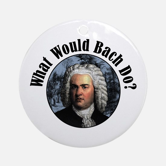 Bach Ornament (Round)