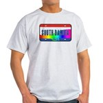 South Dakota Rainbow State Light T-Shirt
