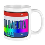 South Dakota Rainbow State Mug