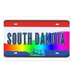 South Dakota Rainbow State Postcards (Package of 8