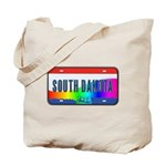 South Dakota Rainbow State Tote Bag