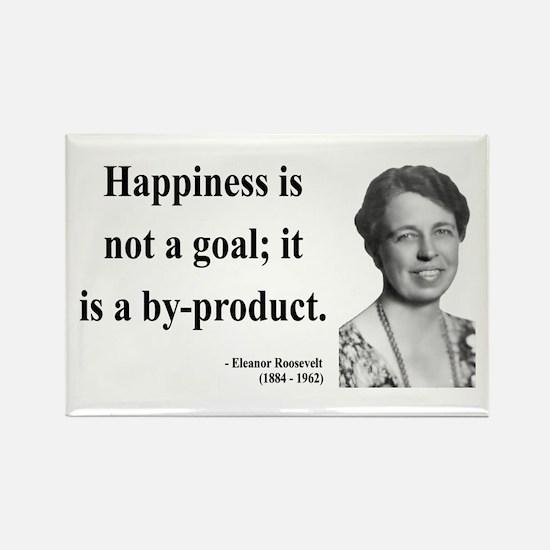 Eleanor Roosevelt 8 Rectangle Magnet