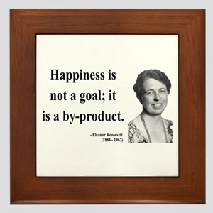 Eleanor Roosevelt 8 Framed Tile