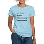 Born Digital T-shirt (Women's Light)