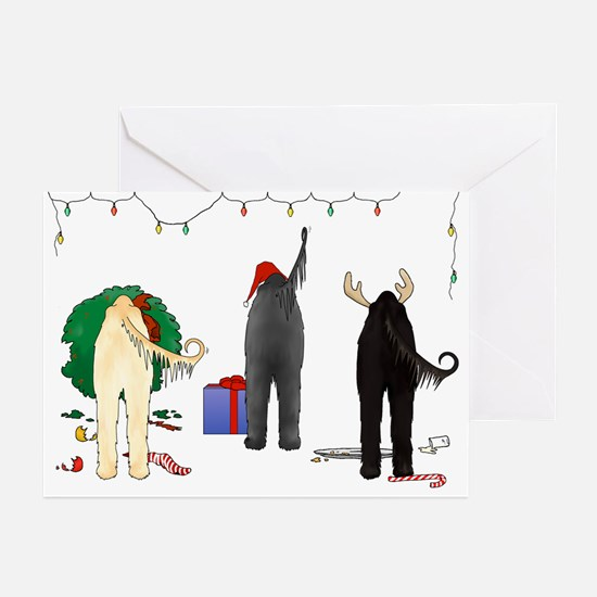 Nothin Butt Afghan Xmas Greeting Cards (Pk of 20)
