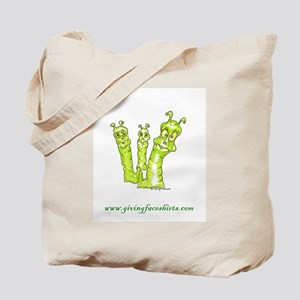 worms three Tote Bag