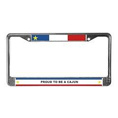PROUD CAJUN License Plate Frame