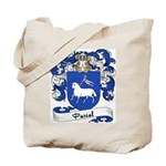 Pascal Family Crest Tote Bag