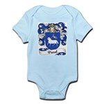 Pascal Family Crest Infant Creeper