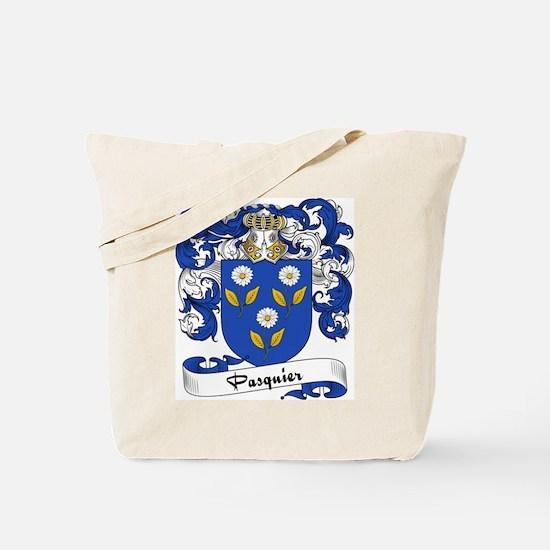 Pasquier Family Crest Tote Bag