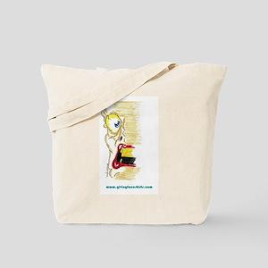 smear face Tote Bag