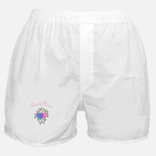 Maid Of Honor (Hearts) Boxer Shorts