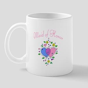 Maid Of Honor (Hearts) Mug