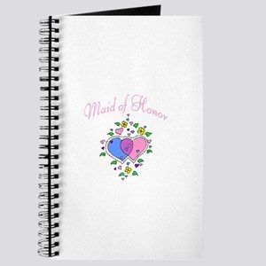 Maid Of Honor (Hearts) Journal