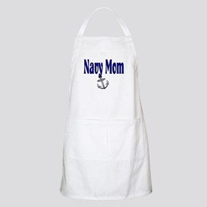Navy Mom with anchor BBQ Apron