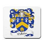 Pelletier Family Crest Mousepad