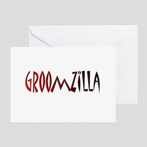 Groomzilla Greeting Card