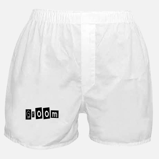 Groom (Square) Boxer Shorts