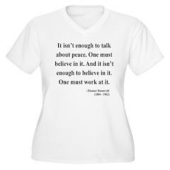 Eleanor Roosevelt Text 10 T-Shirt
