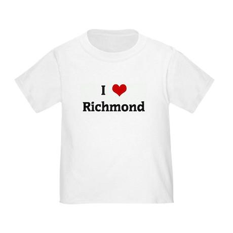 I Love Richmond Toddler T-Shirt