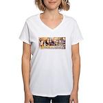 Friend to Friend Women's V-Neck T-Shirt