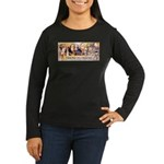 Friend to Friend Women's Long Sleeve Dark T-Shirt