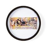 Friend to Friend Wall Clock