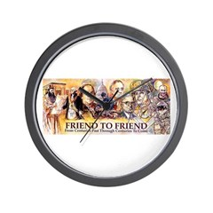 Friend to Friend Wall Clock