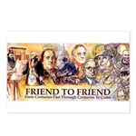 Friend to Friend Postcards (Package of 8)
