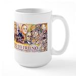 Friend to Friend Large Mug