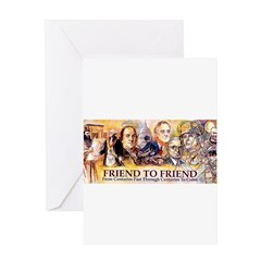 Friend to Friend Greeting Card