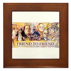 Friend to Friend Framed Tile