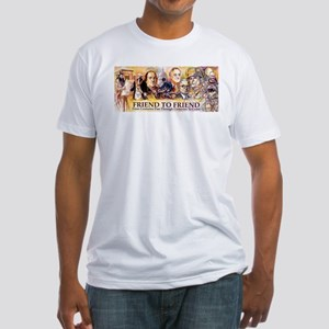 Friend to Friend Fitted T-Shirt