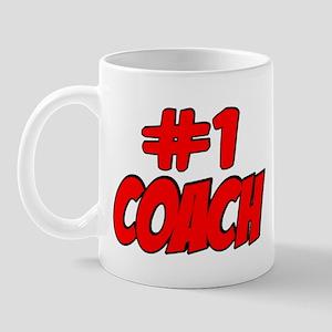 #1 Coach Mug