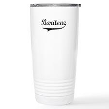 Baritone Swish Stainless Steel Travel Mug