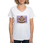 Past Master Women's V-Neck T-Shirt
