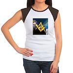 Between the Pillars Women's Cap Sleeve T-Shirt