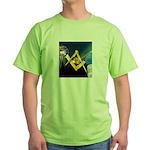 Between the Pillars Green T-Shirt