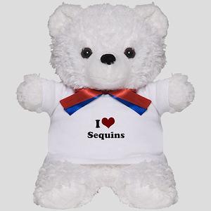 i heart sequins Teddy Bear