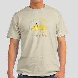 """I'm Not Lazy"" Light T-Shirt"
